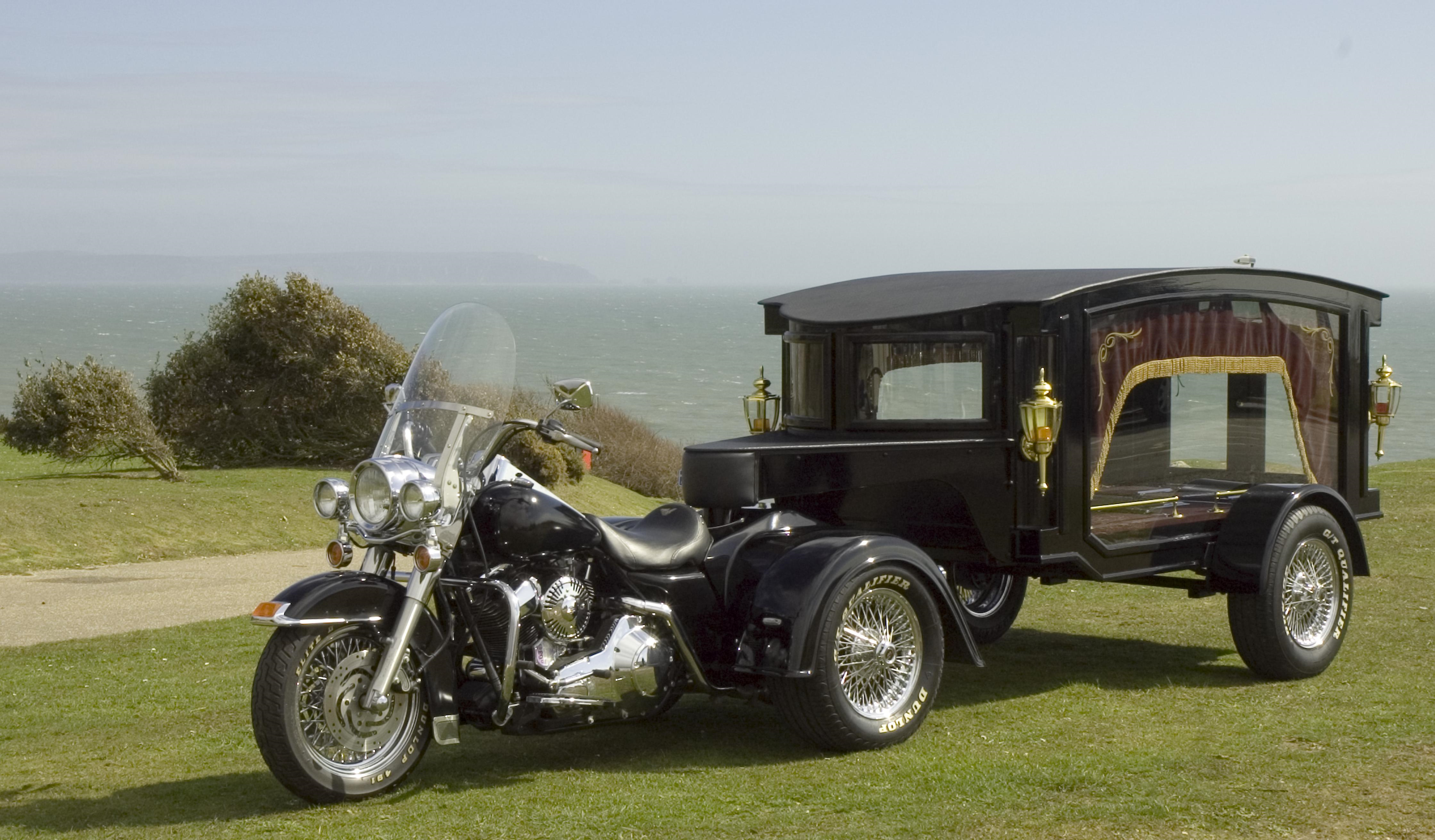 Motorcycle Hearse